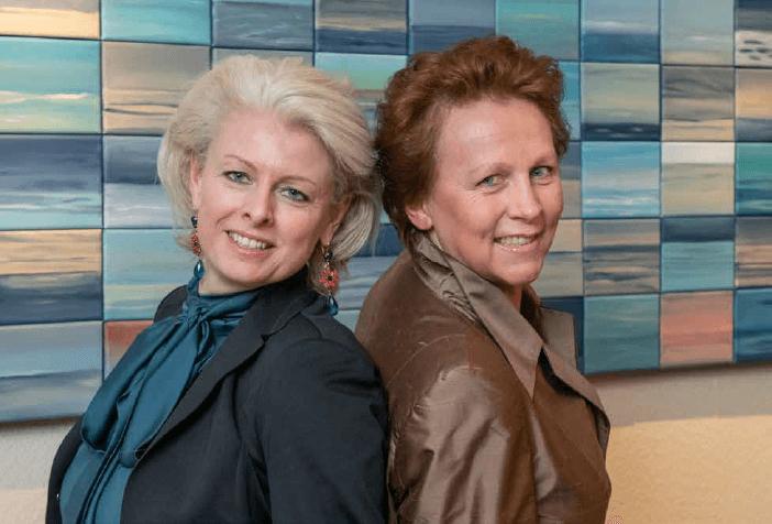 Image: Irma Postma (l) en Nicole Vrolijk (r)
