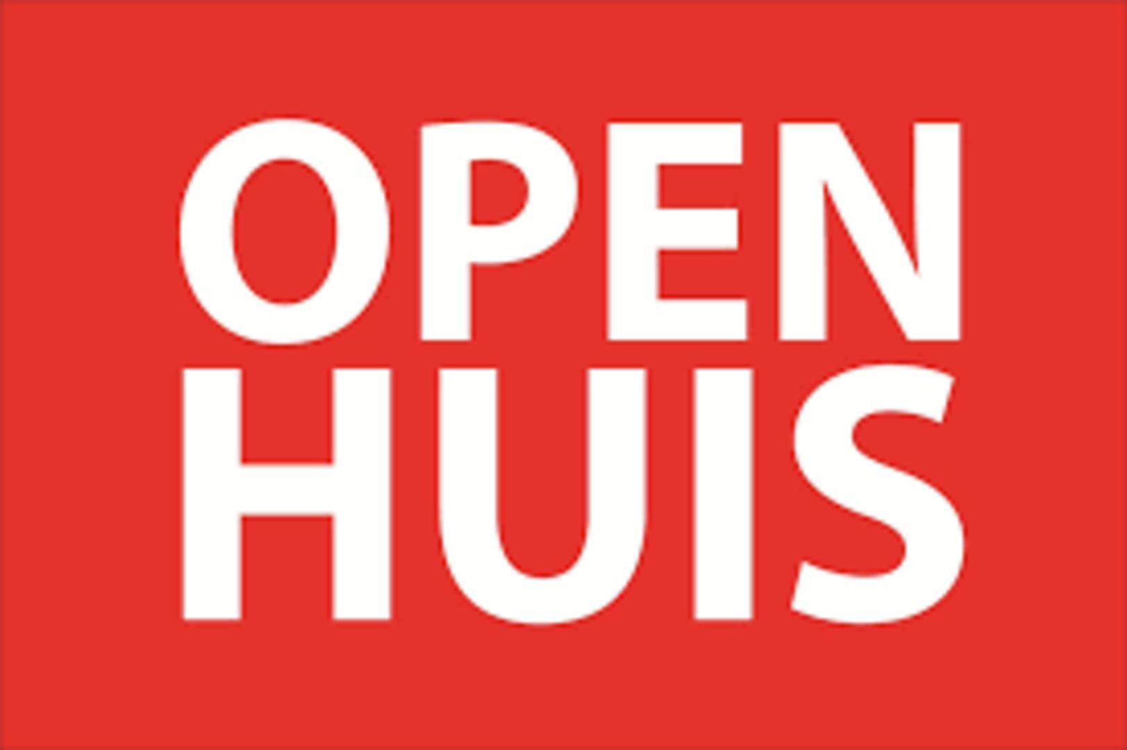 Open huis 1 april van 11:00 tot 15:00