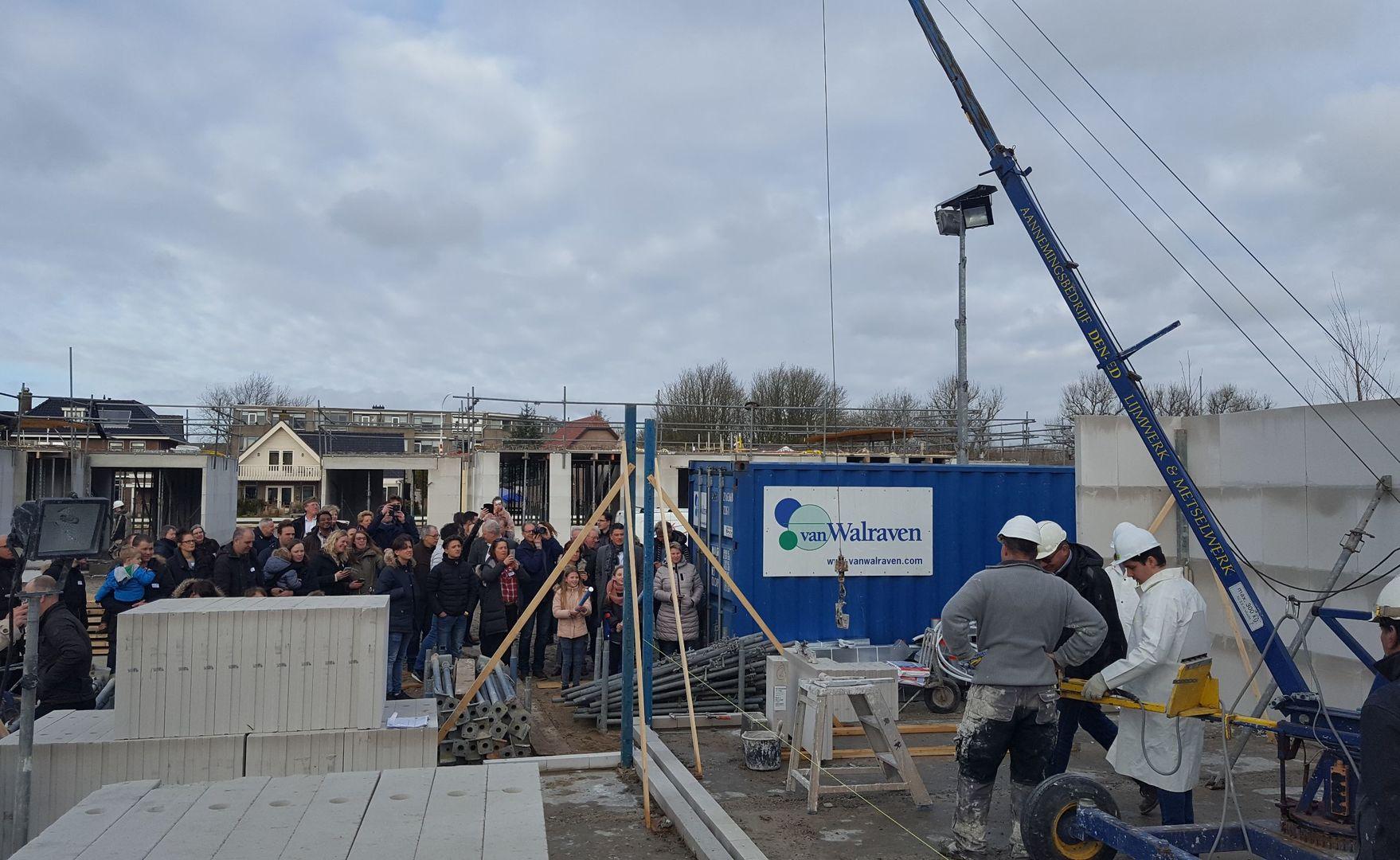 Vordering Project Werfkade