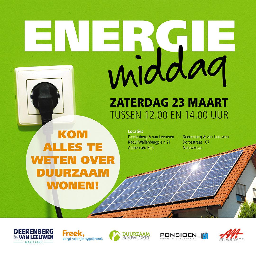 Energiemiddag 23 maart
