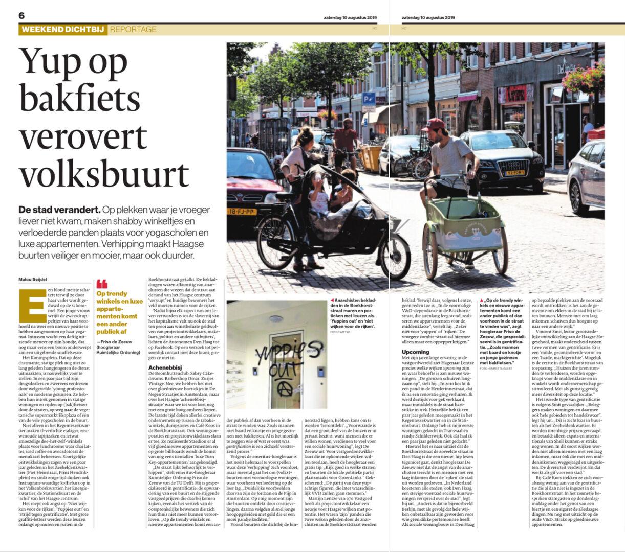 070 Vastgoed geeft visie op gentrification in Den Haag